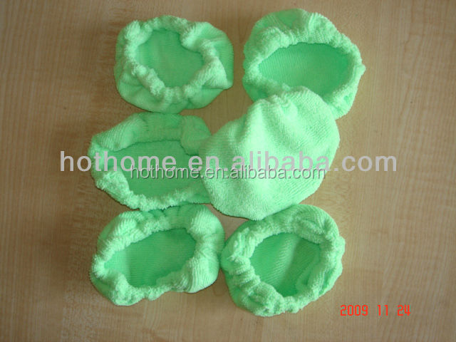 Wholesale Cheaper Mini Size Microfiber 100%Polyester Steam Mop Pads For Cleaning Car Window