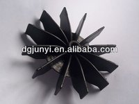 High quality plastic fan blade manufacturers,plastic fan injetion mold