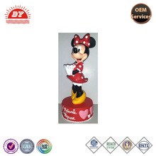Kids Promotional Custom Cheap plastic cake bank / cake coin bank