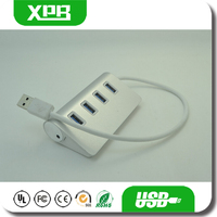 3.0 USB HUB 3 Port Ethernet HUB Aluminum Design