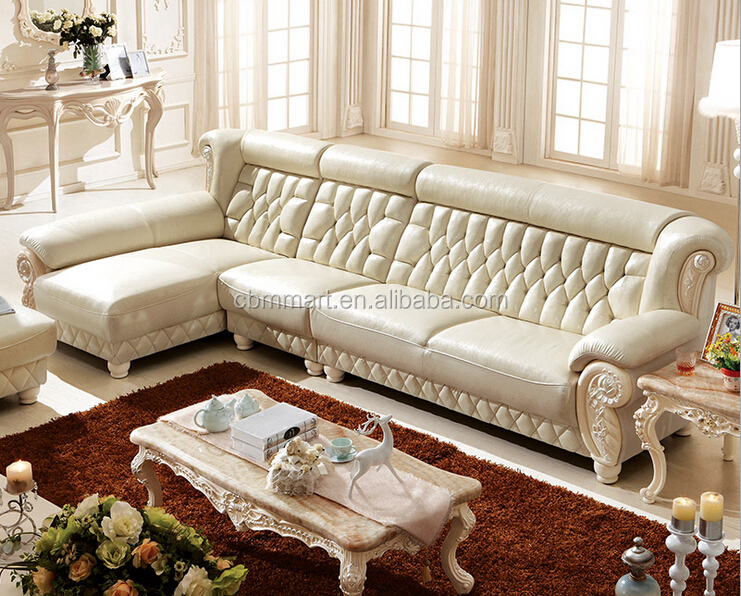 Favorites Compare genuine leather sofa set/ China solid wooden frame sofa sets/germany living room leather sofa