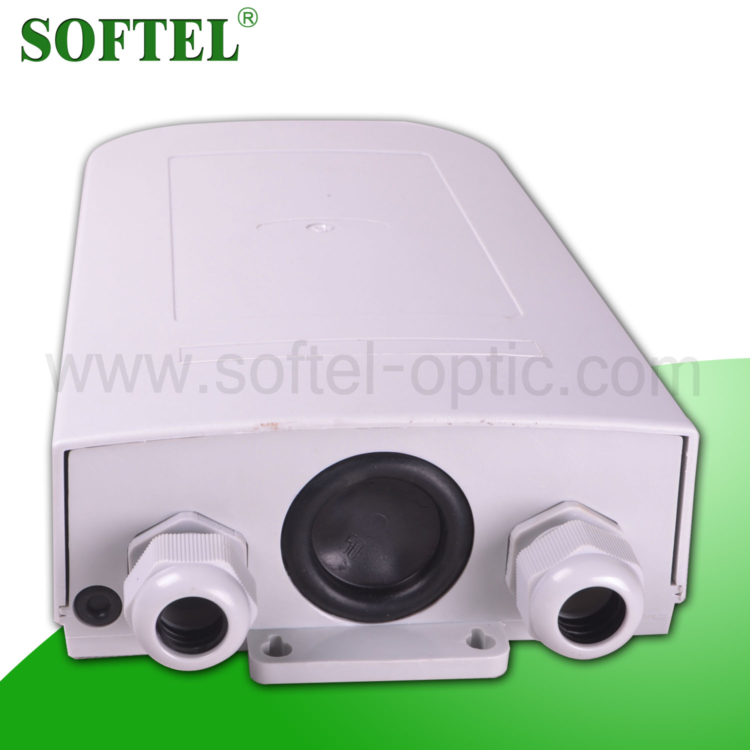 FTTx Wall-mounted Termination Box | 2 Port Mini FTTH Terminal Box for FTTH | FTTH Optic Wall Termination Box