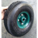 10 inch wheelbarrow rubber inflatable tire 3.00-4 3.50-4 wheel