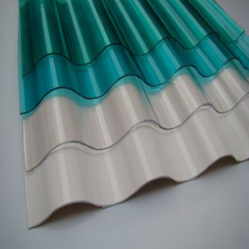 Anti-aging UV-Blocking Fiber glass Corrugated Colorful FRP Roofing Sheets