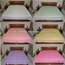 Handmade Cotton Bedspreads Designer Double Bed Size Sophisticated Supplier Cut thread work indian bedsheets