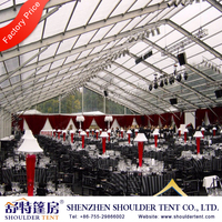 big clear span banquet hall decorations for sale