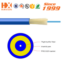 Cable manufacturer sm/mm PVC Jacket 12 core optical fiber cable