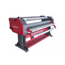 Hot melt pvc profile laminating machine for A4 and A3 size