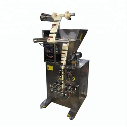 three-side sealing auger condiment filling packaging machine