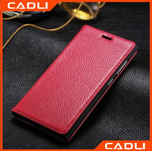 Top quality Flip Cover Leather PU Phone case for Xiaomi MI3
