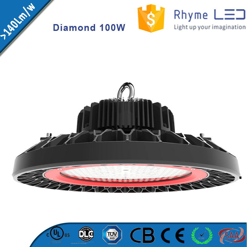 high quality led chip zigbee function dimmable high bay 100w lighting