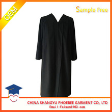 Black Custom Graduation Gown