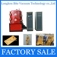China manufacturer Jewelry automatic pvd coating machine / Golden color vacuum coating machinery