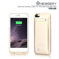 promotion product 4200mA Power Bank External Backup Battery Mobile Phone Travel Charger Case For iPhone 6 Plus