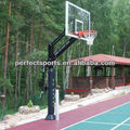 One-Piece Pole Automatic Basketball Goal Post