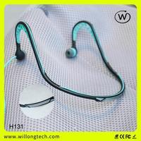 consumer electronics blue in earphone mm dj headphones in gold