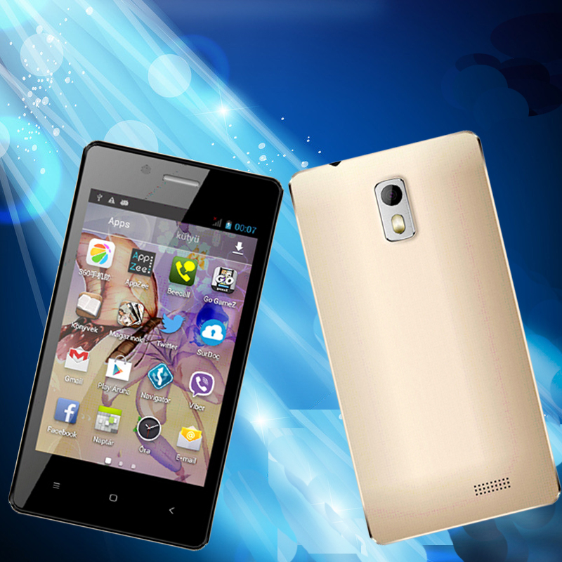 Very Cheaper 4 inch MTK 6572 solution Dual core ,Dual sim Card smartphone