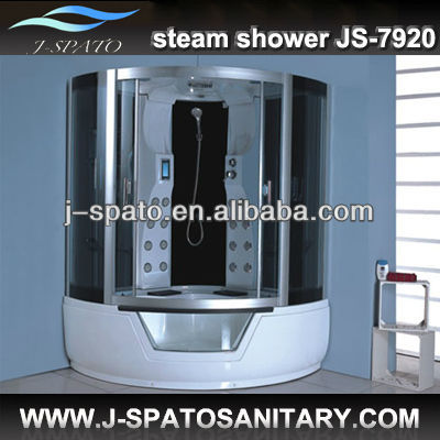 New Invention 2013 Custom New Fashion European Style Furniture Steam Sauna Shower Combination