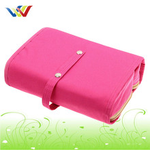 Cutom Promotional Cosmetic bag with detachable three compartment