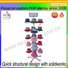 baseball cap display rack provided by Chinese cap rack display manufacturer