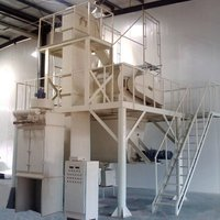Professional manufacturer gypsum powder mixing and packing machine for building