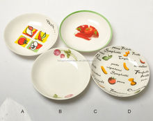 wholesale hotel high quality event restaurant white porcelain pierced plate for fruit