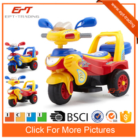 Crazy selling kids remote control ride on plastic motorcycle for sale