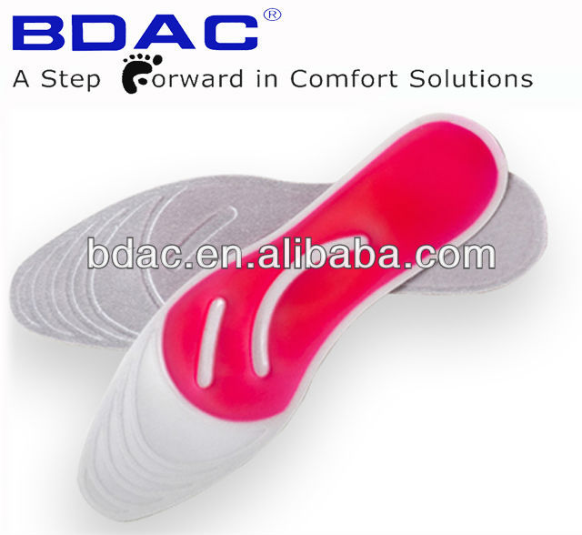gel massaging liquid shoe insole