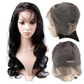 XBL fashional human hair Full Lace Wig 24 Inch Body Wave