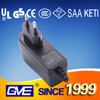 Universal 12V 0.75A Mobile Phone Charger With CE UL SAA Certificate