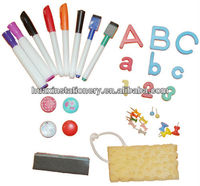 Accessories-Dry Erase Maker / Pin / Eraser / Magnets