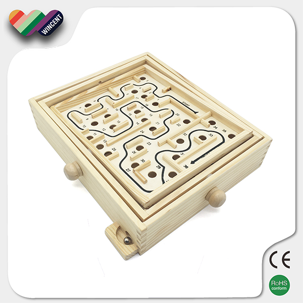 Educational Toy Kids Wooden Maze Game