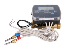 DN15 Ultrasonic heat meter with M-BUS / RS-485/pulse output