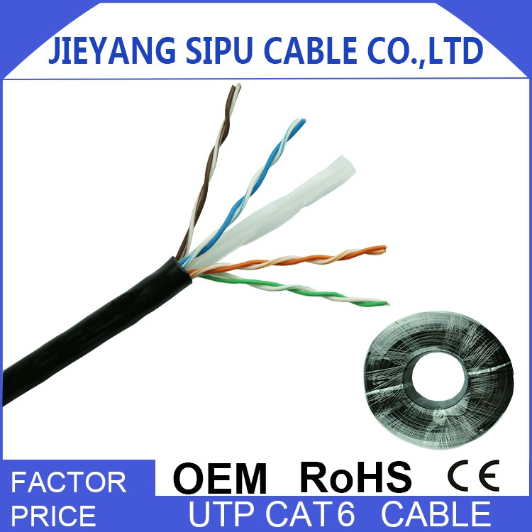 Wholesale sipu 4 pair utp cat6 network cables 305m