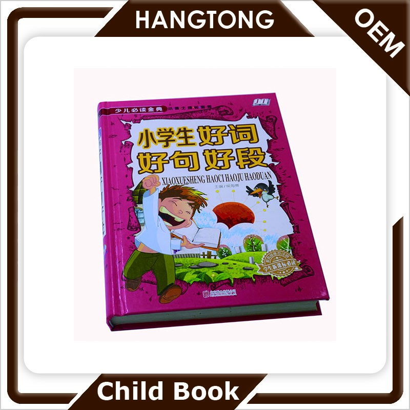 China professional supplier high quality low cost cardboard printing book