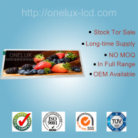 OEM 7.36 inch 1280*400 customized high brightness lcd for sale