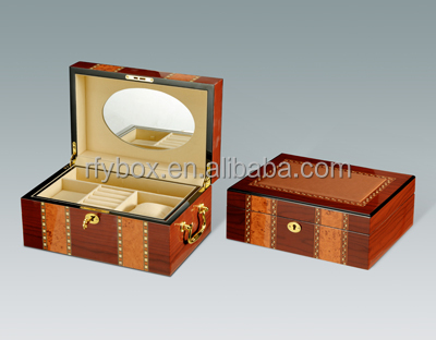 wholesale new design trendy suit luxury jewelry suit box with drawer