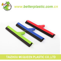 Factory high quality design plastic cheap soft sponge window cleaning squeegee