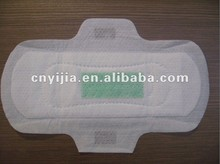 Cotton anion sanitary napkins pad with high absorbency sap paper