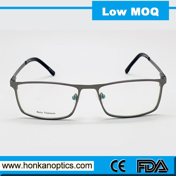 most Italy retro spectacles titanium eye glasses frames T00017