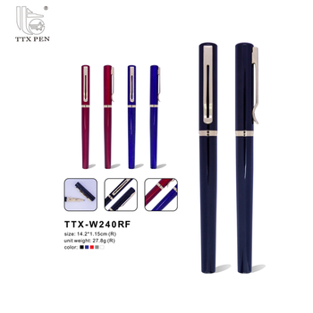 China Custom Printed Personalized Gift Pens Luxury Office Metal Logo Ball Pen