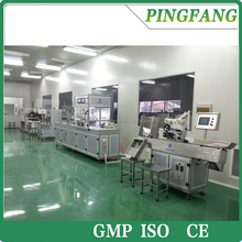 PET Glass Vacutainer assembling machine production line for EDTA heparin