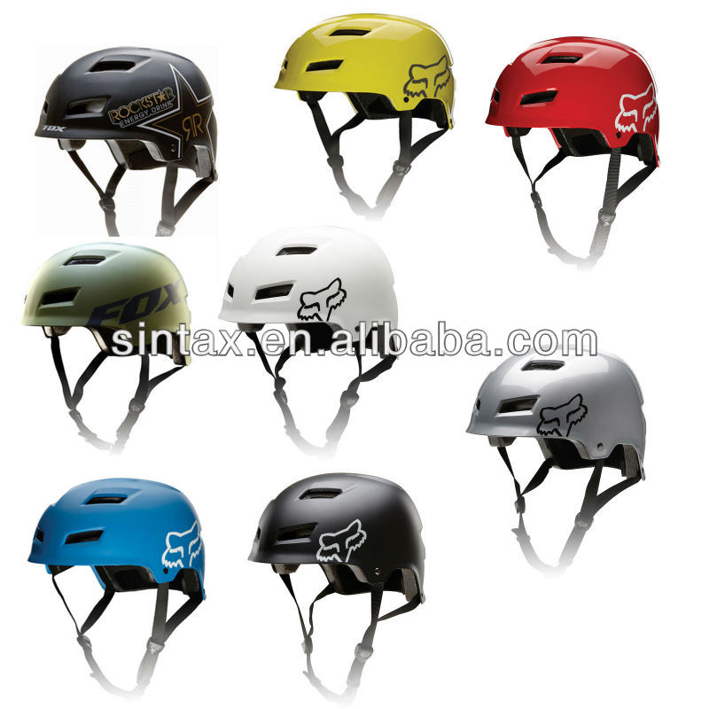 FOX TRANSITION HARD SHELL MTB BIKE HELMET 2014