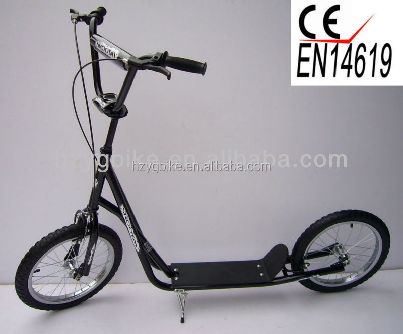 16 inch big wheel popular freestyle bmx scooter kick for Big wheel motor scooter