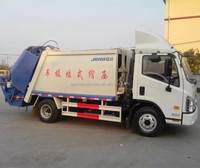 4*2 compression Garbage Truck rear loader garbage truck manufacturers for sale