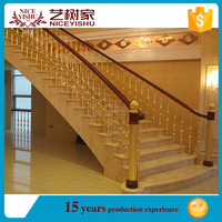 Incomparable railing iron for balcony/stair made in China factory/wrought iron railings cheap