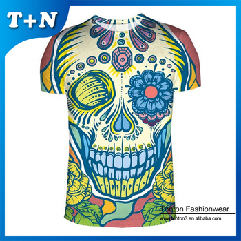Polyester Sublimation Printing T shirt