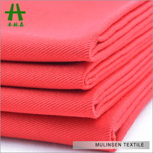 Mulinsen Textile Wide Width TC Twill Solid Dye Cotton Polyester Fabric For Workwear