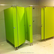 Colorful Swimming Pool Anti-bacterial Toilet Partition/Changing Room/HPL