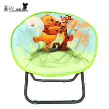 Hot selling new fashion kids half folding moon chair cover alibaba china